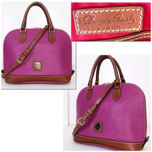 Dooney & Bourke Roseate (Pink) Pebble Leather Bag